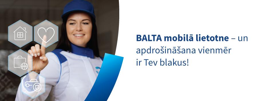 BALTA mobilā lietotne ir klāt!